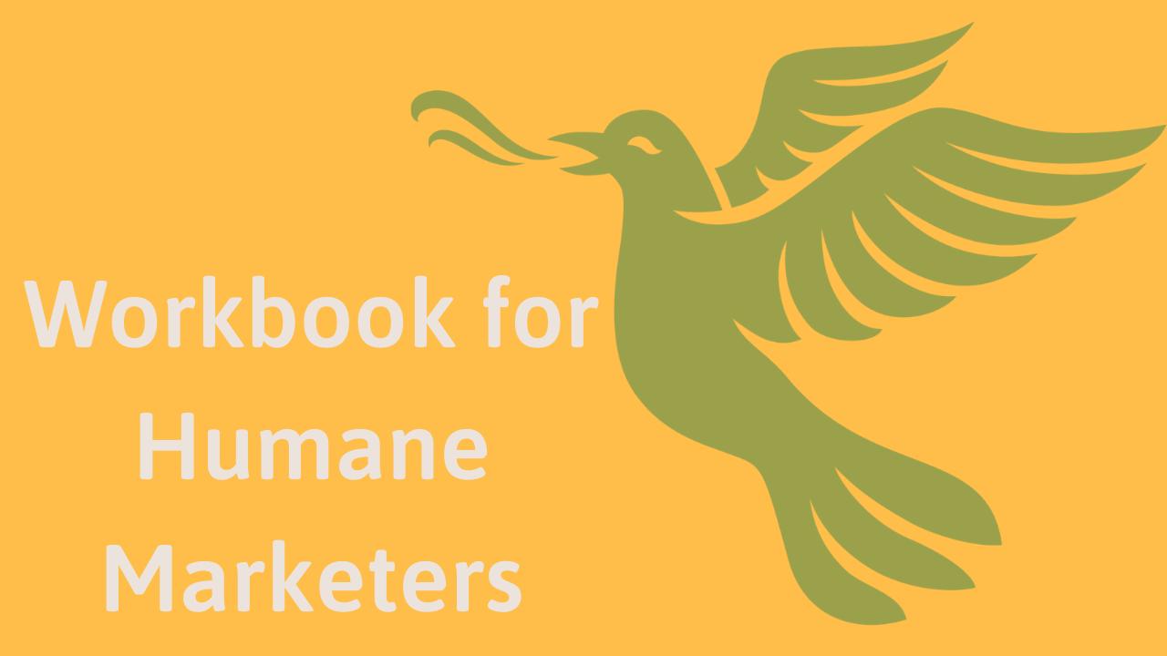 The Gentle Marketing Revolution workbook